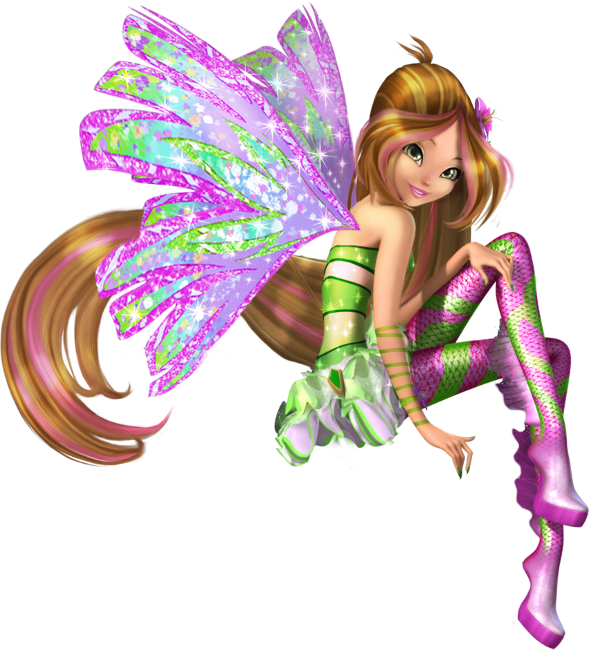 Winx Club Fairies: Flora's Sirenix in 3D  Winx Club Fairi...