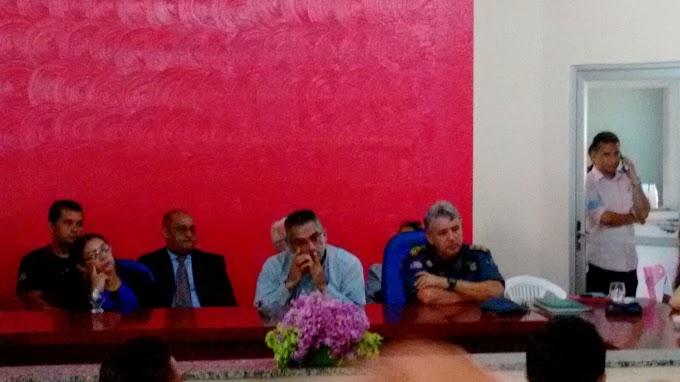 Prefeitura de São João o Sóter promove debate sobre segurança pública