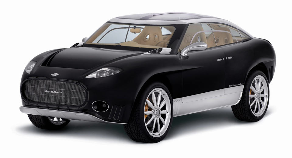 hybrid spyker suv back on track may debut at geneva 2018. Black Bedroom Furniture Sets. Home Design Ideas