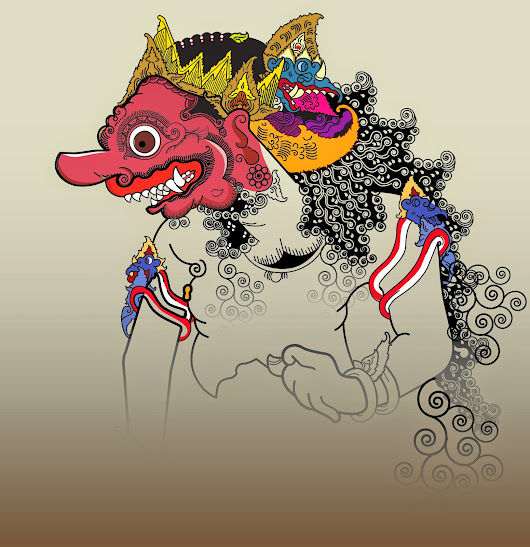 free download wayang vector Kumbokarno