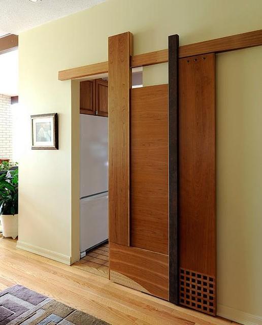 Functional%2B%2526%2BStylish%2BSliding%2BRolling%2BDividers%2BWood%2BDoors%2B%25289%2529 30 Practical & Fashionable Sliding Rolling Dividers Wooden Doorways Interior