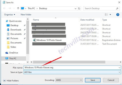 Enable Windows Photo Viewer in Windows 8, 8.1 and 10