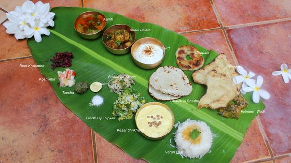 Various Cake Recipes In Marathi: Maharashtrian Thaali