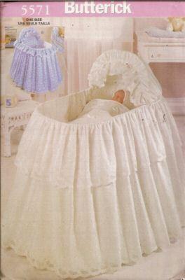 Bassinet Skirt Pattern 110