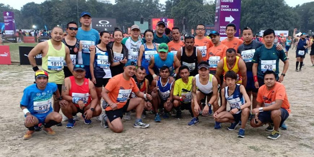 Darjeeling runners in Kolkata Mega Tata Steel 25km Marathon