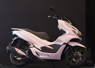 Warna Honda PCX 150 Wonderfull White