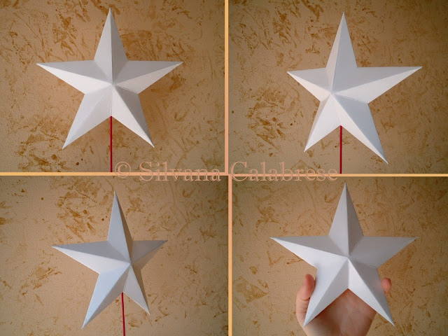 Origami two-dimensional star Loving San Francisco