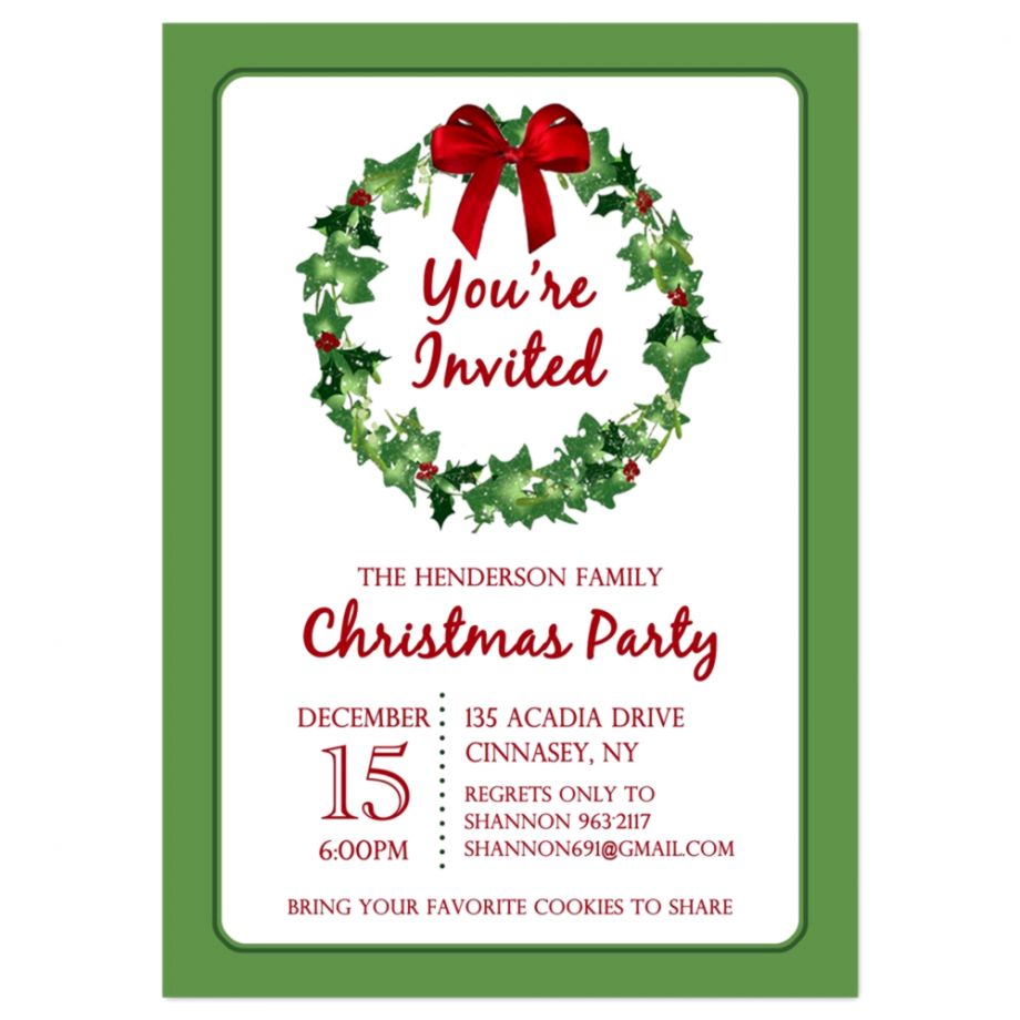 Printable Christmas Party Invitations Gold Wallpapers