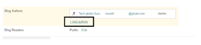 blog ka email address change kare