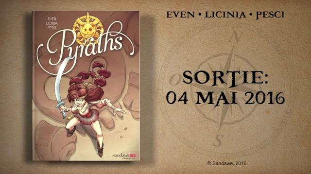 Pyraths - Trailer des éditions Sandawe