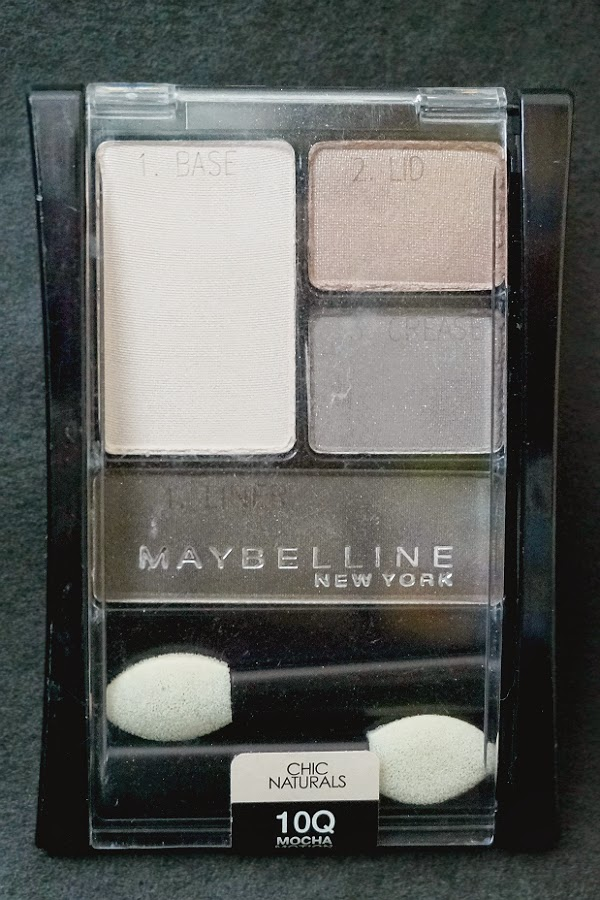 Maybelline Expert Wear Eyeshadow Quad in 10Q Mocha Motion