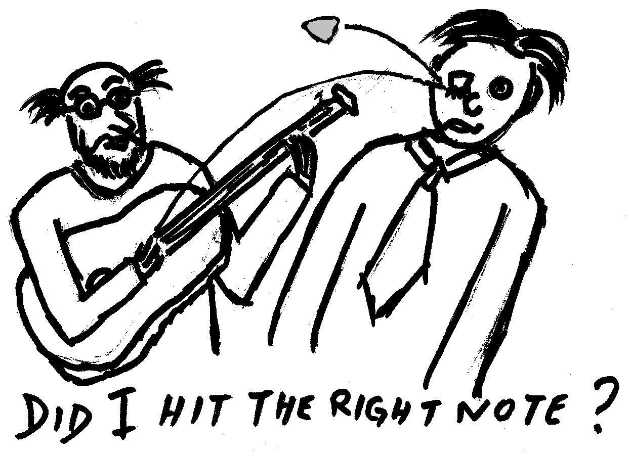 Play Guitar Cartoon