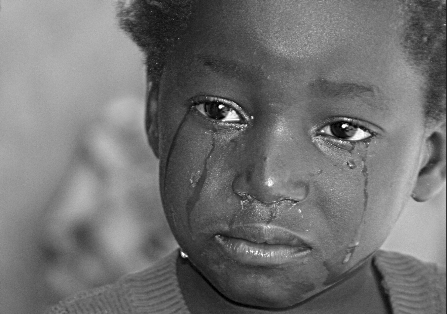 love story: please tell me! |Crying African Children