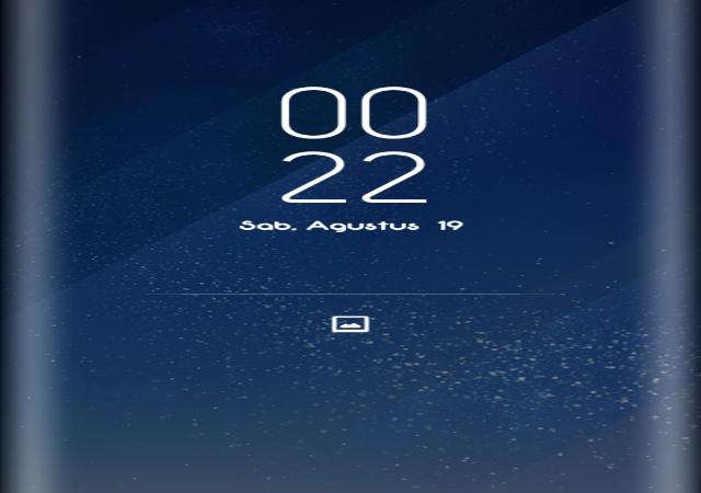 Cara membuat loockscreen seperti galaxy s8 disemua android Terbaru