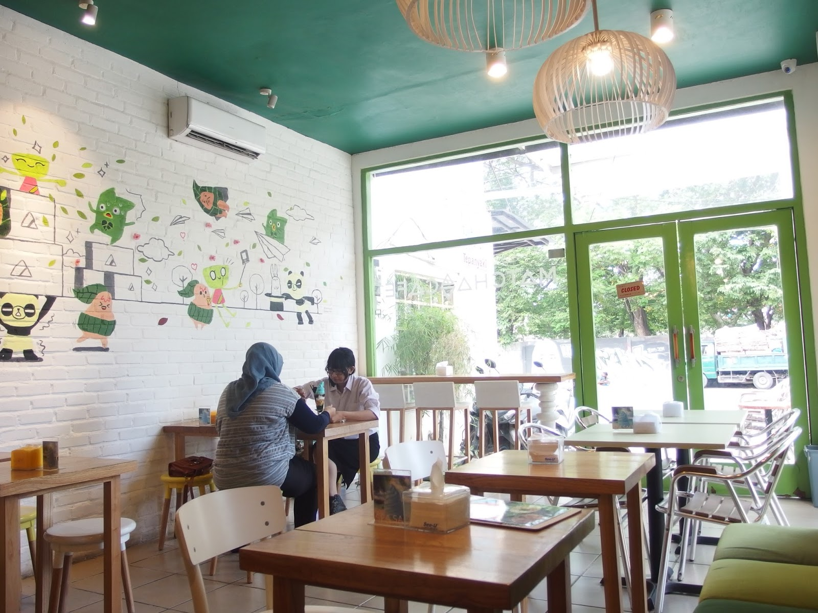 Review Matcha Cafe Surabaya