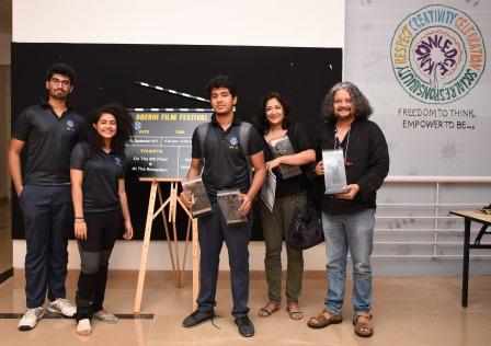 NewzTabloid, Oberoi Film Fest,Arvind Raju. Devi Dang, Partho Gupte, Amole Gupte