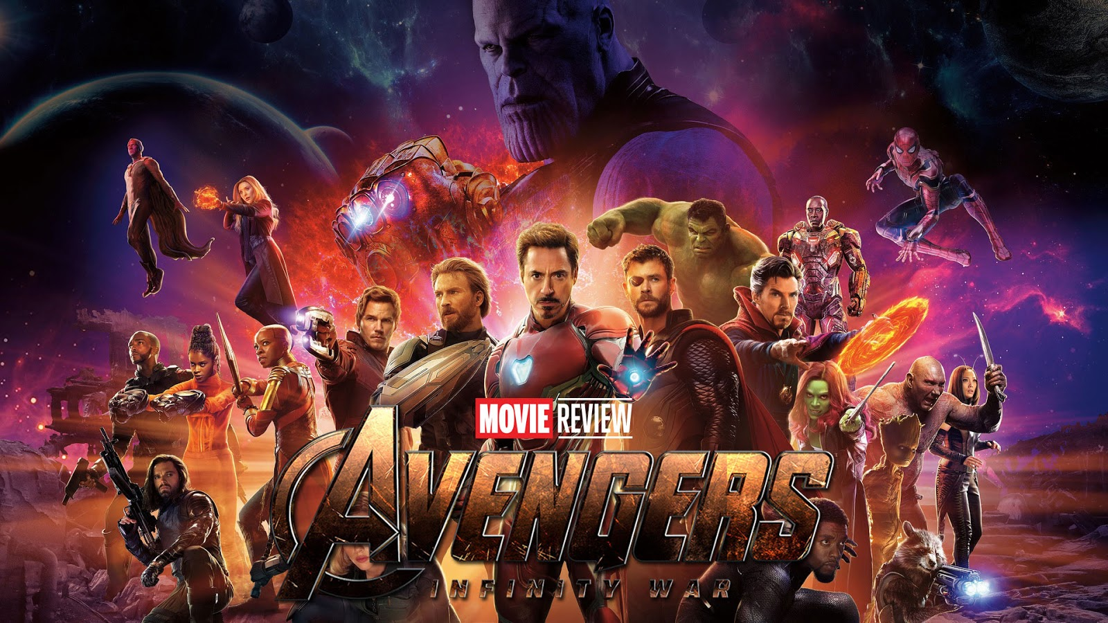 movie review Marvel's Avengers: Infinity War podcast