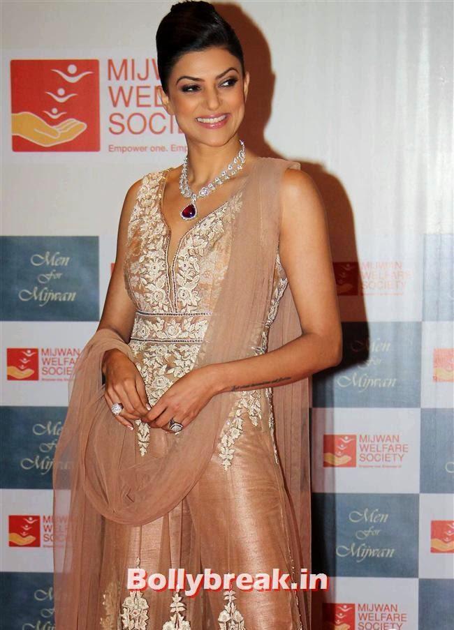 Sushmita Sen, Top Bollywood Celebs at Men For Mijwan Charity Fashion Show