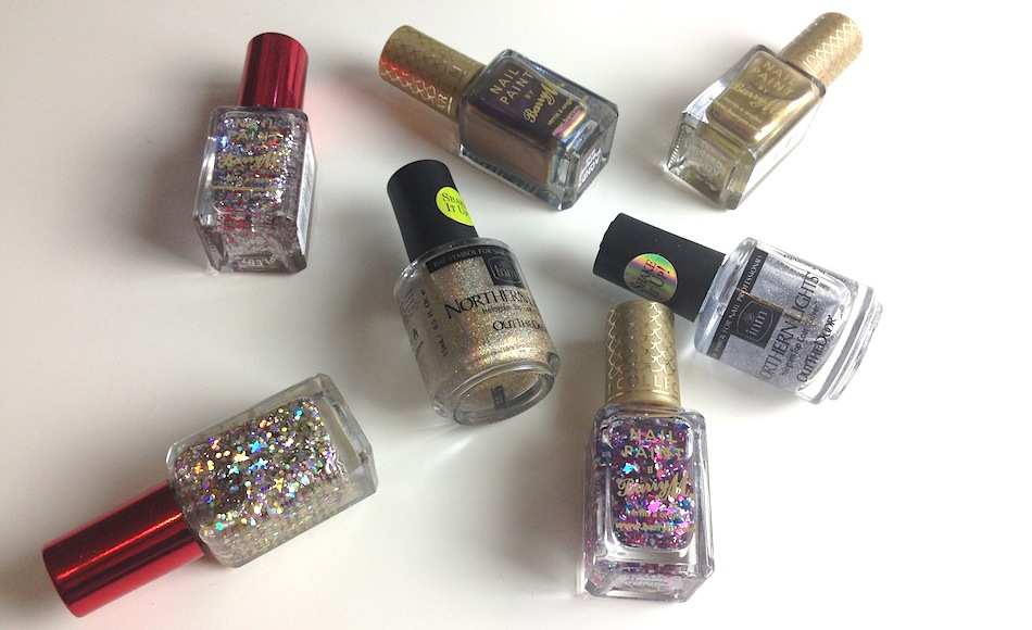 an image of top festive nail polishes 2014