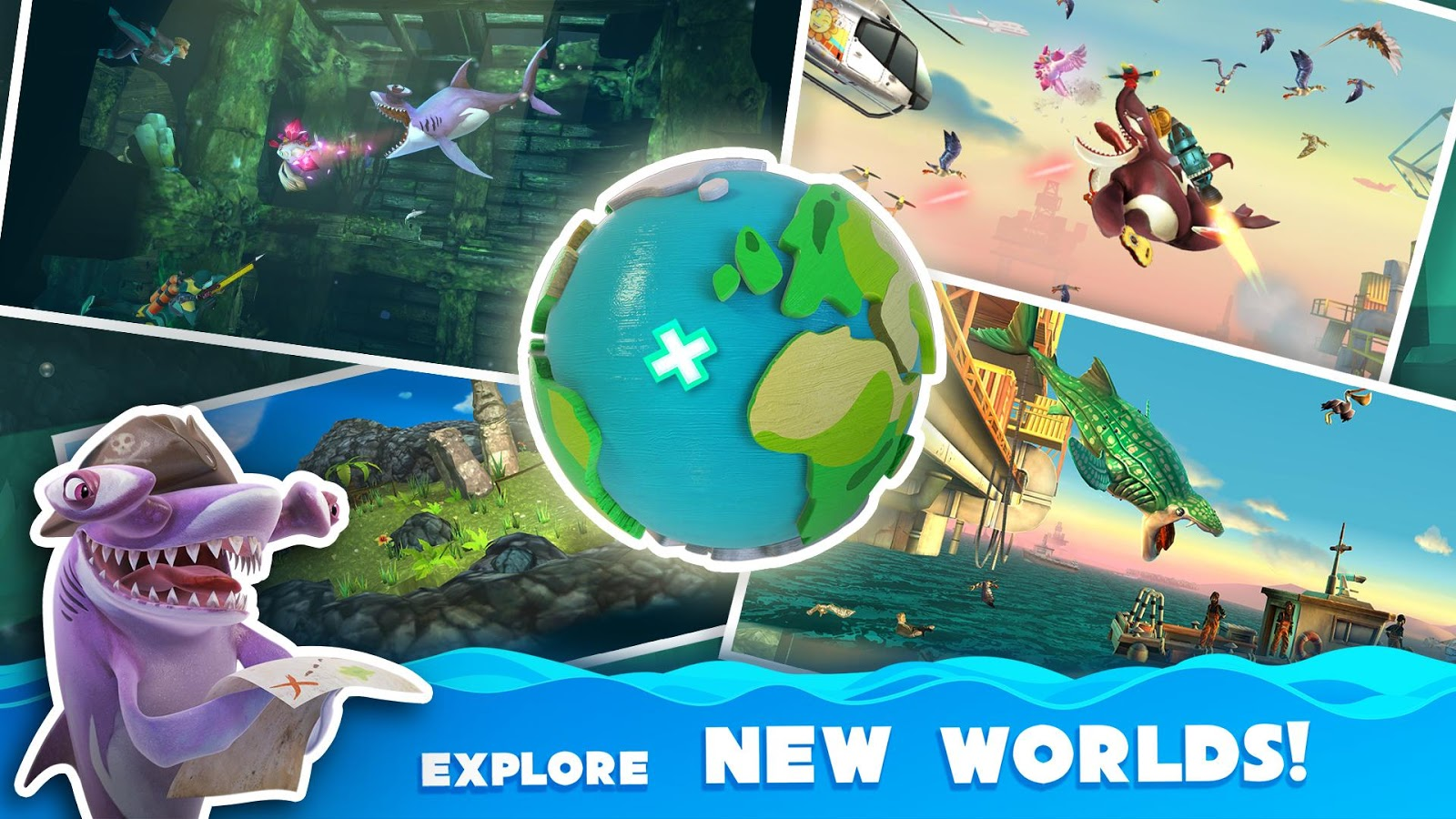 Hungry Shark World MOD APK terbaru