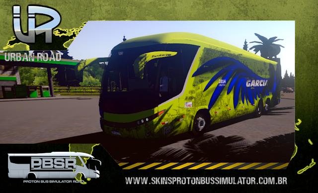 Skin Proton Bus Simulator Road - G7 1200 Volvo B12R Viação Itapemirim
