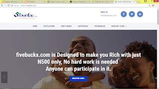 Fivebuckx: How To Earn Extra N24,000 Weekly Online In Nigeria