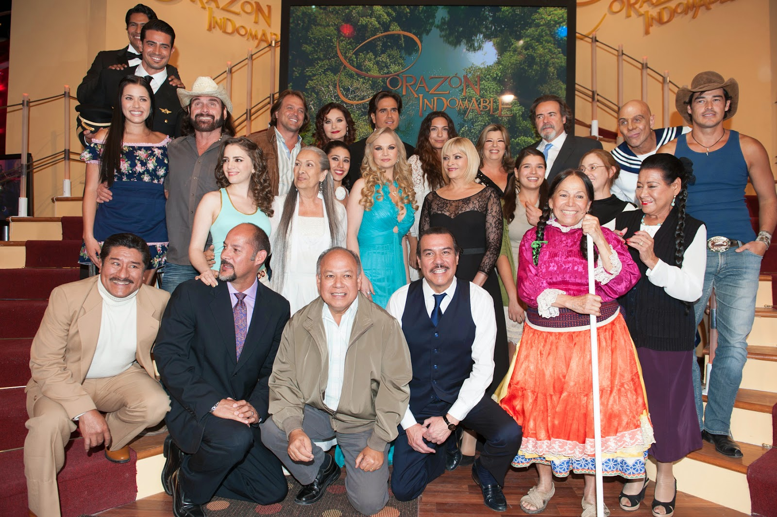 fotos presentaci243n de la telenovela coraz243n indomable