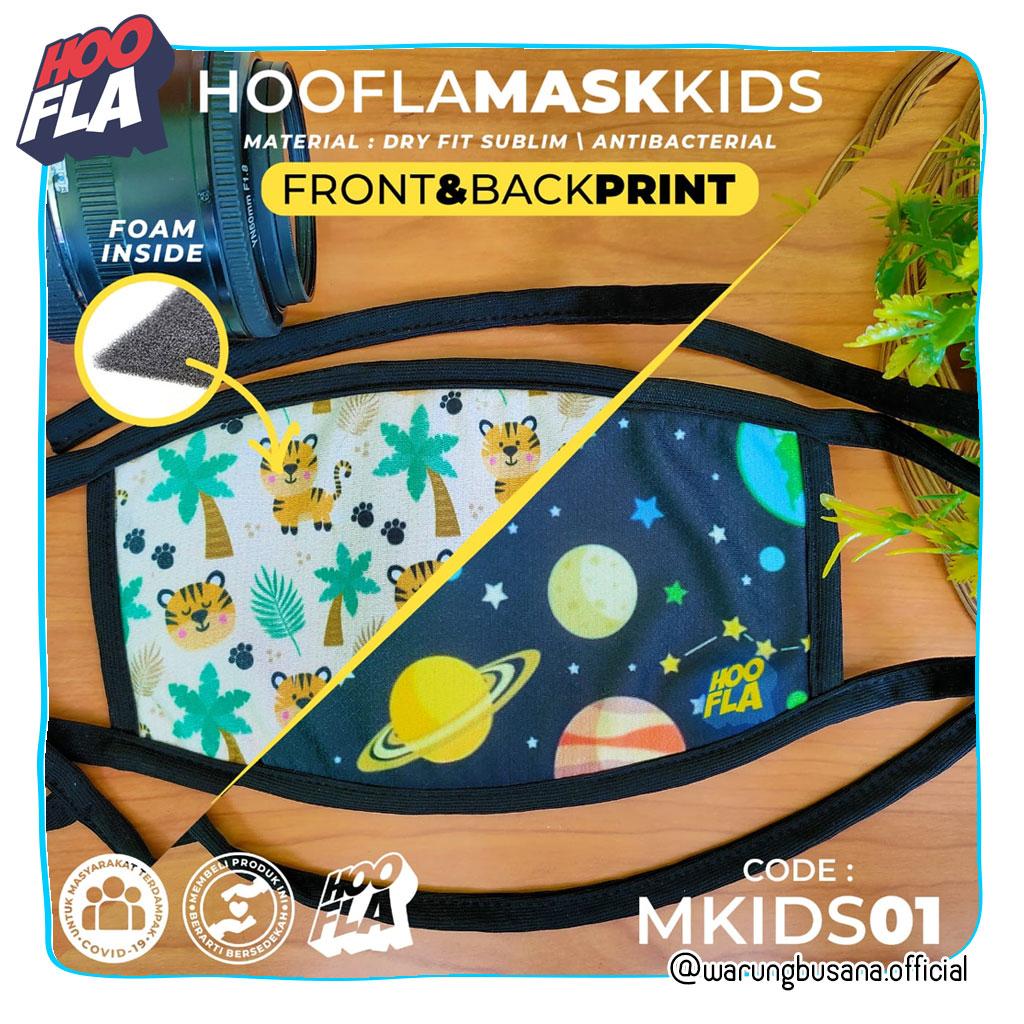 Hooflamask Masker Anak