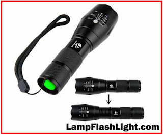 YIFENG XML-T6 Portable 1600 Lumen CREE LED Tactical Flashlight