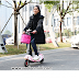 Xe đạp điện mini scooter giá rẻ