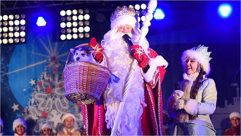 Зарплата Деда Мороза