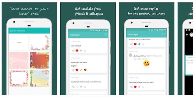 Download & Install Sarahah Mobile App