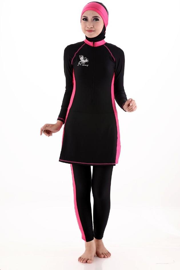 10 Desain Baju Renang Untuk Wanita Muslim Fashionable dan
