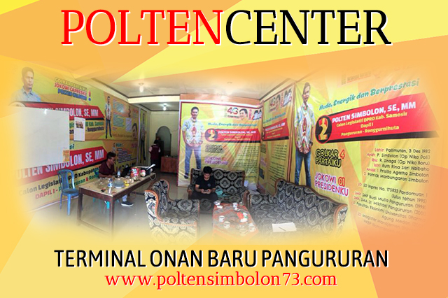 Tim Pemenangan Polten Simbolon (TPPS) Center