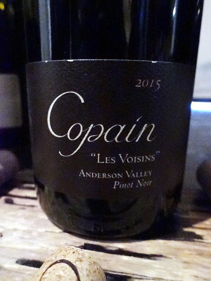 """Copain """"Les Voisin"""" Pinot Noir 2015 (91+ pts)"""