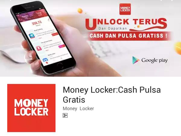 Money Locker Aplikasi Penghasil Pulsa Gratis Dari Android Terbaik