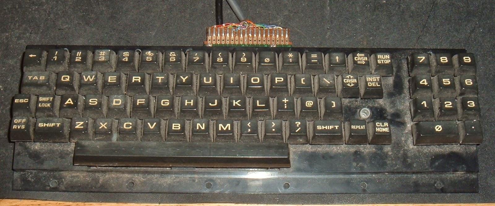 Tynemouth Software: Commodore Pet Repair Part 8 - Keyboard