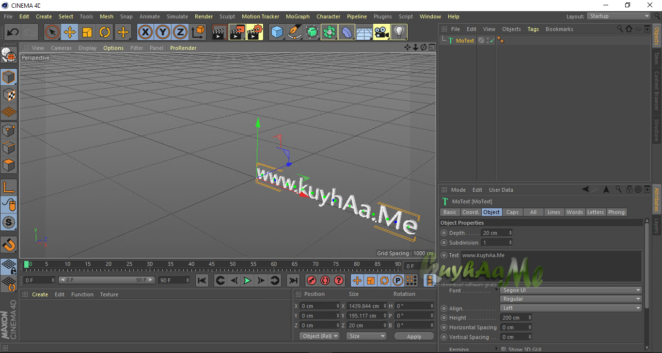 Maxon CINEMA 4D Studio full