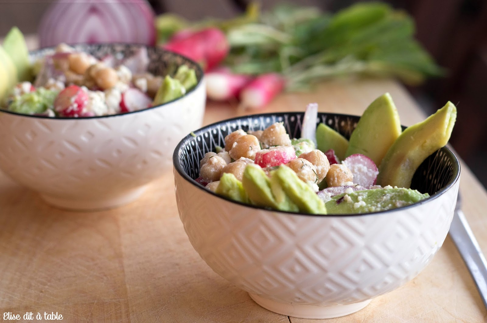 recette Salade pois chiches