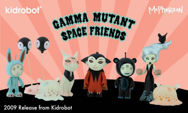 Kidrobot x Tara McPherson STELLAR DREAM SCOUTS GAMMA Mini Vinyl Figure