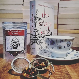 """It's A Monster's World"" This Savage Song Inspired loose leaf black tea from Rosie Lea Tea"