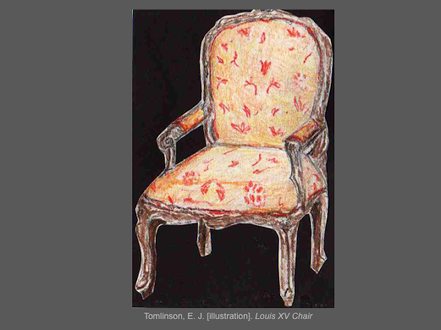 Furniture Of Louis Xv Period