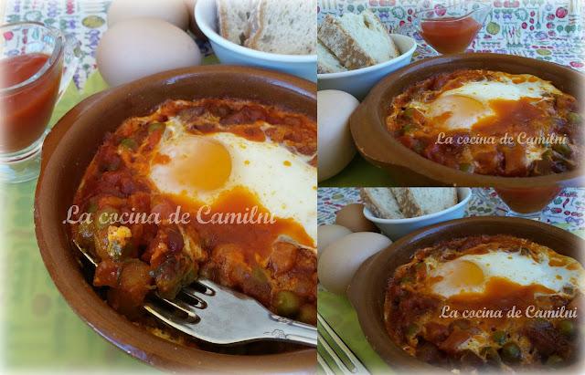 Huevos a la flamenca (La cocina de Camilni)