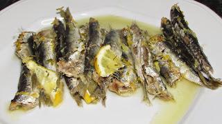 Resultat d'imatges de sardines al forn amb llimona