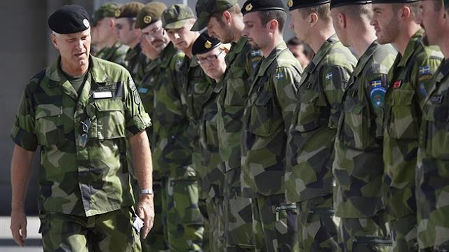 Swedish military plans 'largest' drills in 20 years along with NATO troops