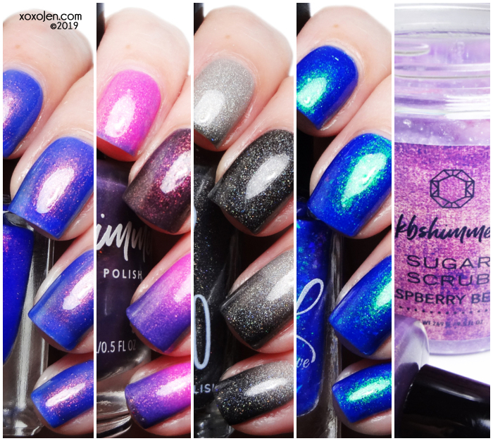 xoxoJen's swatch of March Polish Pick Up: Album Covers