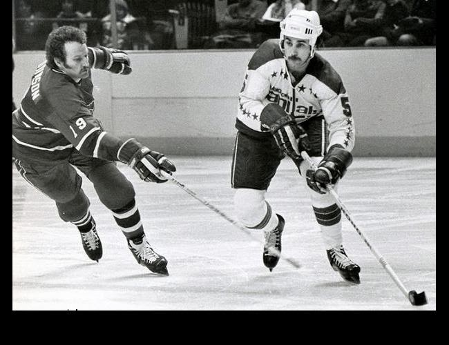 Vs. Montreal: Larry Robinson (19) and Rick Green (5)