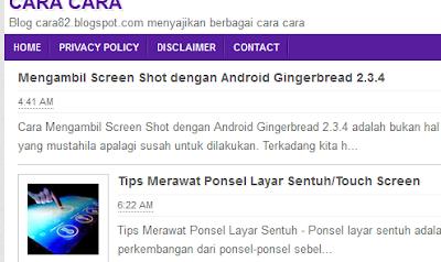 Mengambil Screen Shot