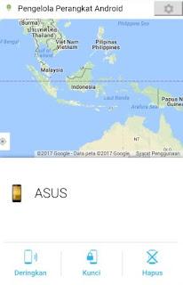 Menemukan Smartphone hilang menggunakan Android Device manager