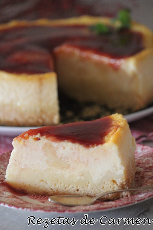 Tarta de queso de Dresde [Eierschecke]